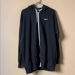 Nike Boyfriend's style hoodie, xl, oversized black
